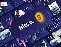 Bitco Cryptocurrency Multipurpose Template