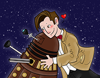 Cute Doctor And Dalek - 2014
