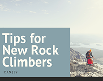 Tips for New Rock Climbers