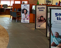 Marquette Savings Bank | Point of Sale displays