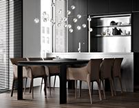 Cvetnoy 32 — Interior Design