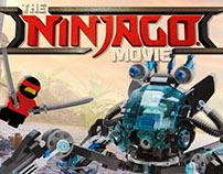 The Lego Ninjago Movie CGI & Illustration