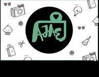 Tarjeta de presentación - empresa AJAE