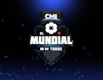 EL MUNDIAL ES DE TODOS / CMI / LOGO