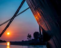 """Loading the ARA """"Canal Beagle"""""""