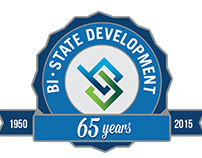 Bi-State Development 65 Years Pin Concepts