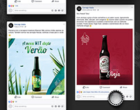 Cerveja Vadia . Social Media