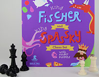 King Fischer and King Spassky Chess Set