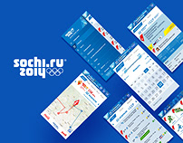 Official Sochi 2014 Apps & Live Infographics