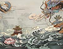 龍啟之地-中式地產提報