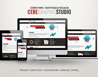Projekt strony WWW - CEBE GRAPHIC STUDIO