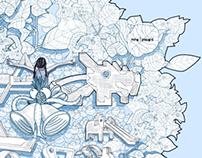 A Singapore Snowflake