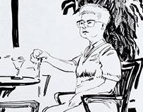 Sketchbook Cyprus, 2018