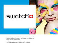 Catalog for the popular Swatch brand