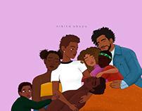 Black Lives Matter (Abolish ICE) by Nikita Abuya