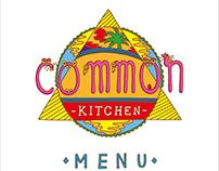 Common kitchin menu