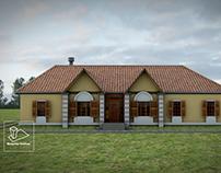 Maqueta Virtual Casa de Campo
