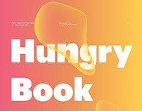 Hungry Book – web animation & branding