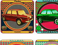 Nostalgia art and products - Cars from the past