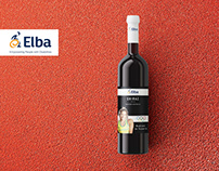Wine label design for ELBA organisation / Australia
