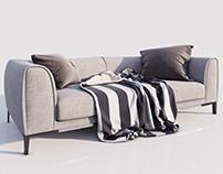 Trevi sofa by Natuzzi