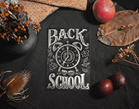Back to school chalk animation