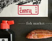 El Cantil fish market