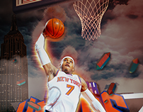 Carmelo Anthony - Melo - NBA illustrations