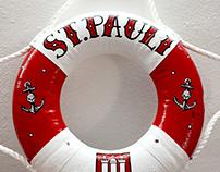 """Kleiner Rettungsring """"St.Pauli"""""""