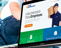 Nivel empresarial. Web design