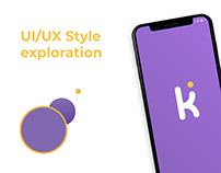 UI/UX Style exploration