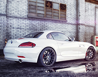 BMW Z4 - enviroment scene / 2014