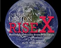 RISE X Global Investment Forum registration brochure