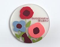 Illustrations Coasters. Guggenheim Bilbao.