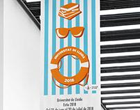 Universidad de Verano de Lleida. Propuesta-cartel.