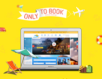 Only to Book - Travel Website Revamp - UX/UI Design