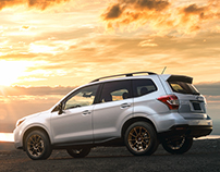 Subaru Forester XT - Photography and Retouch
