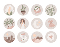 Icons and stickers
