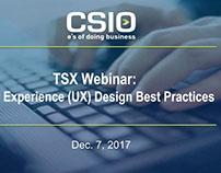 Webinar: User Experience (UX) Design Best Practices