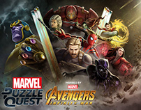 Marvel Puzzle Quest: Avengers Infinity War