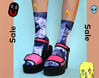 PaINteD SoCks