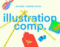 Illustration comp. №3