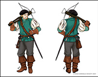 Game Character Designs (2007)