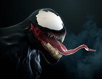Venom 3D Bust