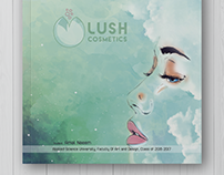 Graduation project - Lush Booklet and Posters