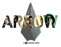 Arrow| Lettering composition