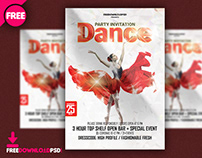 Dance Party Template Psd