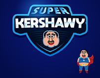 SUPER KERSHAWY LOGO