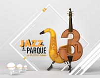 Jazz al Parque Canal trece (Ilustración / visual)