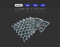 Game Of Thrones - 3D Pack